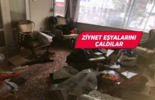 İzmir'de girdikleri evde 4 gün kaldılar!
