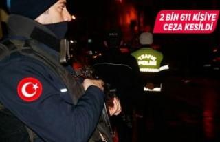İzmir'deki asayiş uygulamalarında bin 339...