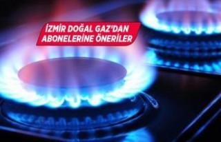 İzmir Doğal Gaz'dan doğal gazın verimli kullanımı...
