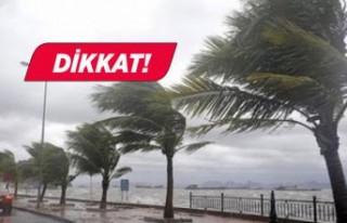 İzmir Valiliği'nden fırtına uyarısı