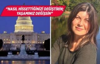 İzmirli Elvan Demirkan Amerikan Kongresi'ne moral...