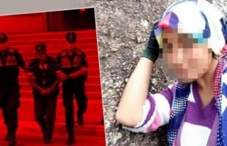 Kan donduran olay! Kızının şok ifadesi tutuklattı