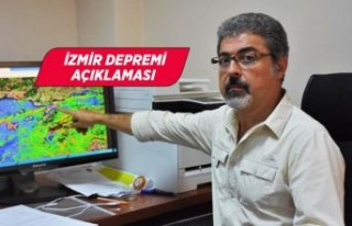 Prof. Dr. Hasan Sözbilir'den İzmir depremi...