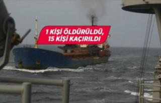 Son dakika haber: Gine açıklarında Türk gemisine...