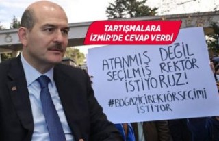Süleyman Soylu, rektör tartışmalarına son noktayı...