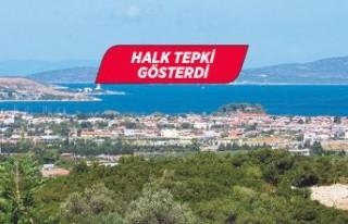 Urla Özbek'te kurulacak arıtma tesisine tepki