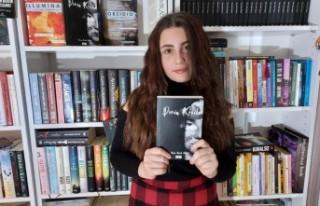 13 yaşındaki Yaren, kitap yazdı