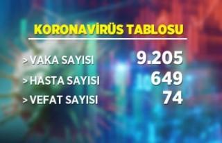 26 Şubat Koronavirüs tablosu
