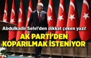 """Abdulkadir Selvi'den dikkat çeken yazı! """"Erdoğan..."""