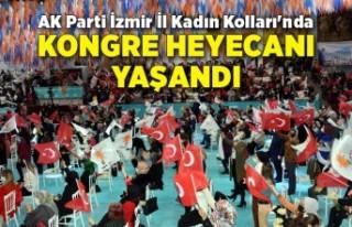 AK Parti İzmir İl Kadın Kolları'nda kongre...