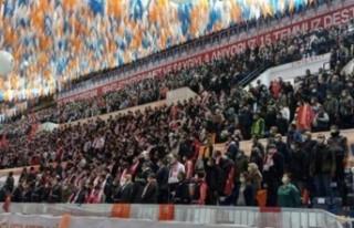 AK Parti'nin kongre yaptığı illerde vakalar...