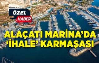 Alaçatı Marina'da 'ihale' karmaşası