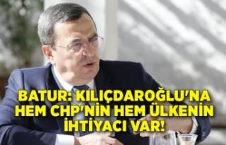 Batur: Kılıçdaroğlu'na hem CHP'nin hem...