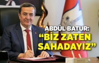 Batur: Konak Belediyesi çalışıyor, kimse merak...