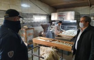 Bergama'da fırınlara denetim