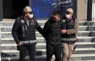 Bir ayda 7 ev soyan şüpheli 1 tutuklandı
