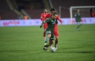 Bursaspor, Play-Off iddiasında yara aldı