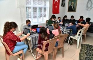 Büyükşehir'den önce internet sonra tablet desteği
