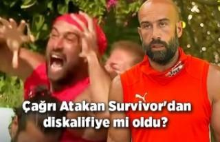 Çağrı Atakan Survivor'dan diskalifiye mi oldu?...