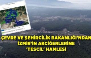Çevre ve Şehircilik Bakanlığı'ndan İzmir'in...