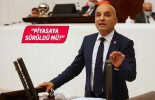 CHP'li Polat'tan sanayi tipi alkol çıkışı