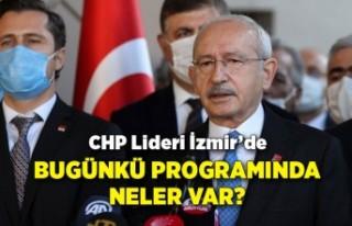 CHP Lideri, İzmir'de: Programda neler var?