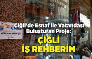 Çiğli'de Esnaf ile Vatandaşı Buluşturan...