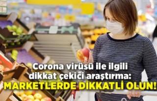 Corona virüsü ile ilgili dikkat çekici araştırma:...