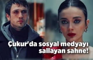 Çukur'da sosyal medyayı sallayan sahne!