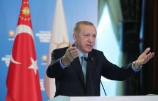 Cumhurbaşkanı Erdoğan: Teröristleri buluyor, inlerini...