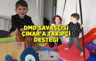 DMD'li Çınar'a evde fizik tedavi odası...