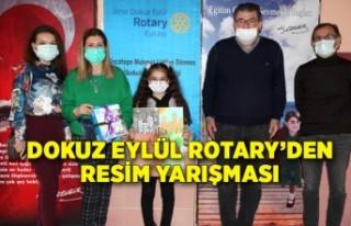 Dokuz Eylül Rotary'den resim yarışması