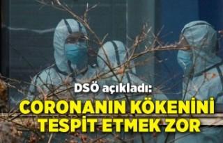 DSÖ açıkladı: Coronanın kökenini tespit etmek...