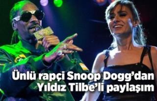 Dünyaca ünlü rapçi Snoop Dogg'dan Yıldız Tilbe'li...