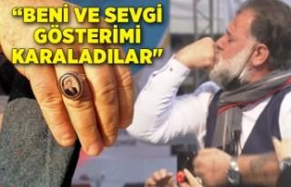 Erdoğan'a sevgisini, yüzüğünü öperek göstermişti:...