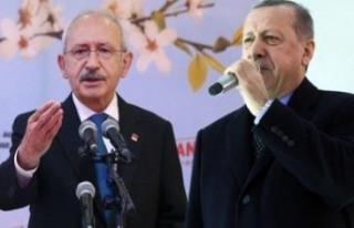 Erdoğan'dan Kılıçdaroğlu'na 500 bin...