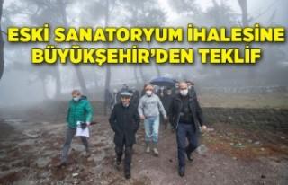 Eski sanatoryum ihalesine Büyükşehir'den teklif