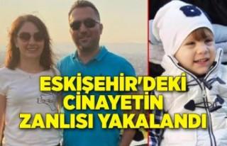 Eskişehir'deki üç cinayetin katil zanlısı...