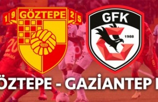 Göztepe, Gaziantep FK maçlarında beraberlikler...