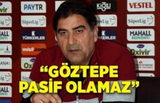 Göztepe Teknik Direktörü Ünal Karaman: Göztepe...