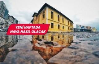 İzmir'de fırtına ve yağış etkili!