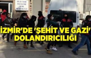 İzmir'de 'şehit ve gazi' dolandırıcılığı