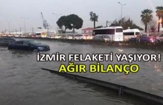 İzmir felaketi yaşıyor! Ağır bilanço