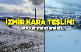 İzmir kara teslim!