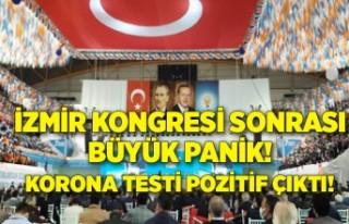 İzmir kongresi sonrası büyük panik! Korona testi...