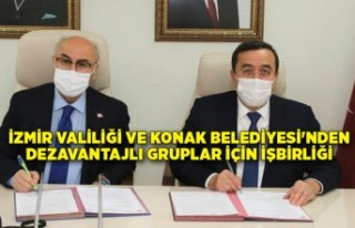 İzmir Valiliği ve Konak Belediyesi'nden dezavantajlı...