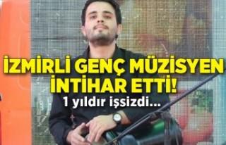 İzmirli genç müzisyen intihar etti