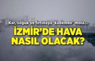 Kar, fırtına soğuk... İzmir'de hava nasıl...