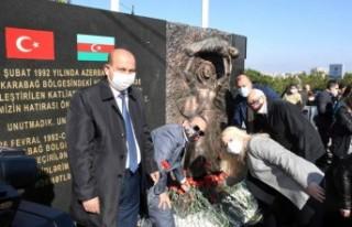 Karabağlar'da Hocalı anması