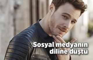 Kerem Bürsin sosyal medyanın diline düştü